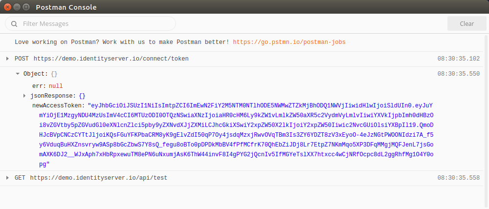 Automatically generate new OAuth 2 0 access tokens when